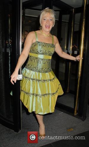 Denise Welch and Grosvenor House