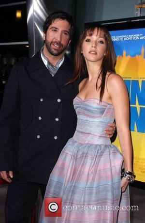 David Schwimmer and Guest Los Angeles Premiere of 'Run Fatboy Run' held at the Arclight Theater - Arrivals Los Angeles,...