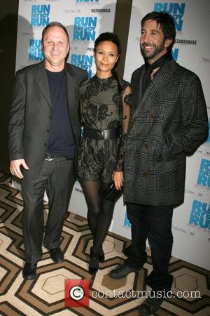 David Schwimmer, Thandie Newton and Bob Berney