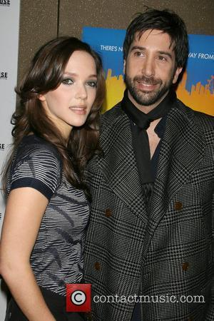 David Schwimmer and girlfriend Screening of 'Run Fatboy Run' - Arrivals New York City, USA - 18.03.08