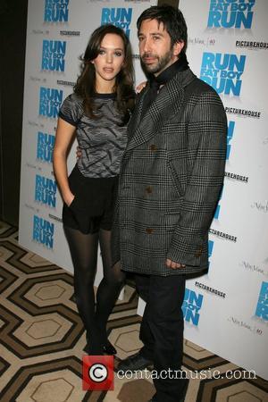 David Schwimmer and Girlfriend