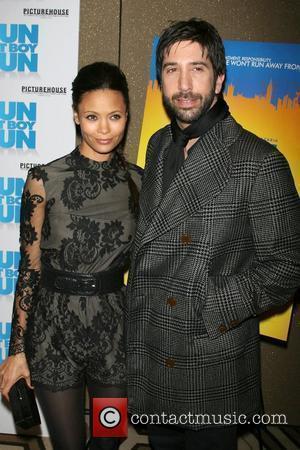 Thandie Newton and David Schwimmer