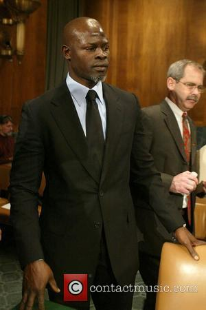 Djimon Hounsou Senate Judiciary Committee Hearing on Runaway and Homeless Youth, held at the Dirksen Building at The Capitol Washington...