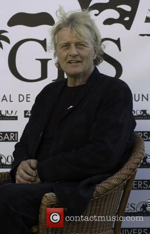 Rutger Hauer  receives a Time Machine Award for his contribution to the film industry at the Sitges Film Festival...
