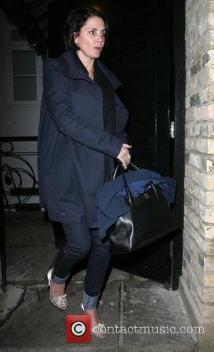 Sadie Frost and a friend are spoken to by the police, after leaving the home of Kate Moss rather worse...