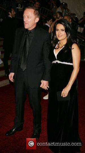 * HAYEK GIVES BIRTH TO GIRL Actress SALMA HAYEK is celebrating becoming a mother for the first time - after...