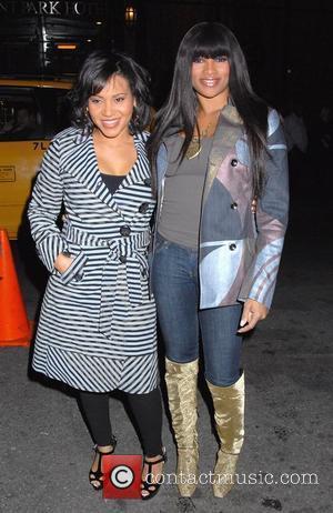 Cheryl Wray aka Salt and Sandra Denton aka Pepa arrive for the Mercedes-Benz Fashion Week Fall 2008 shows New York...