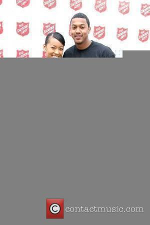Denyce Lawton and Wesley Jonathan The Salvation Army Celebrity Invitational Golf Classic held at the Trump National Golf Course -...