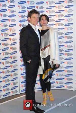 Ben Shepherd and Annie Shepherd Samsung gala dinner in aid of Cystic Fibrosis Trust - held at the Bluebird London,...