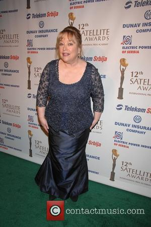 Kathy Bates wins the Mary Pickford Award. 12th Annual Satelite Awards held at InterContinental Hotel - Arrivals Century City, USA...