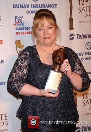 Kathy Bates 12th annual Satellite Awards held at the InterContinental Hotel - Press Room Century City, California - 16.12.07