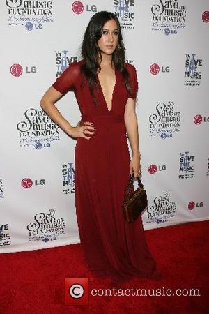 Vanessa Carlton VH1's Save The Music Foundation 10 Year Anniversary Gala at Lincoln Center New York City, USA - 20.09.07