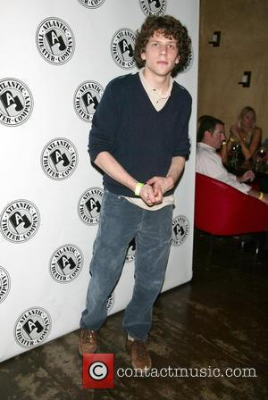 Jesse Eisenberg Opening Night after party for the Atlantic Theater Company production of