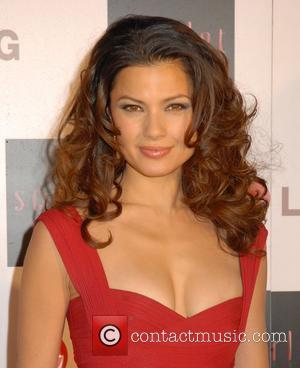 Natassia Malthe,  Launch party of the new TV series 'Scarlet' - Arrivals London, England - 30.04.08