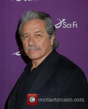 Edward James Olmos Sci Fi Channel 2008 Upfronts at The Morgan Library & Museum New York City, USA - 18.03.08