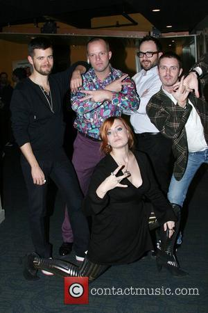 Scissor Sisters To Pen Shears' Wedding Song?