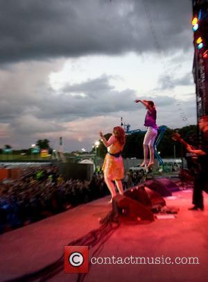 Oxegen Festival, Punchestown Racecourse, Scissor Sisters
