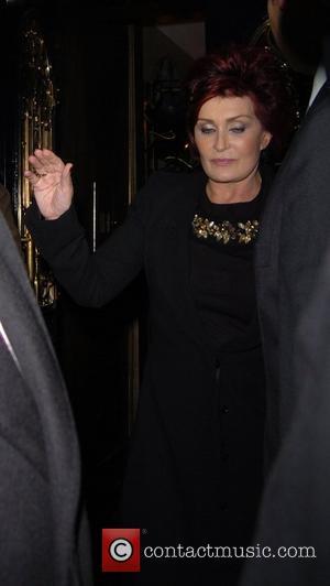 Sharon Osbourne ,  leaving Scotts restaurant in Mayfair London England - 07.11.07