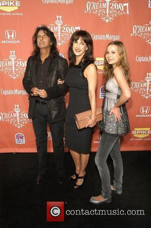 Alice Cooper and family