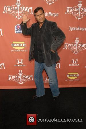 Bruce Campbell Spike TV presents the second annual 'Scream 2007' held at the Greek Theater Los Angeles, California - 19.10.07