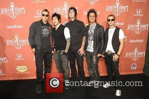 the band 'Avenged Sevenfold' Spike TV presents the second annual 'Scream 2007' held at the Greek Theater Los Angeles, California...