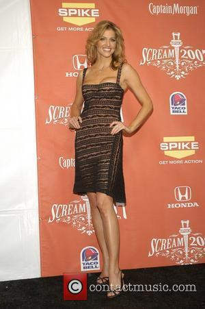 Tricia Helfer Spike TV presents the second annual 'Scream 2007' held at the Greek Theater - Pressroom Los Angeles, California...