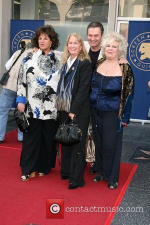 Lainie Kazan, Diane Ladd, Joe Bologna and Renee Taylor 'Screen Actors Guild Award of Excellence Star' on the Hollywood Walk...