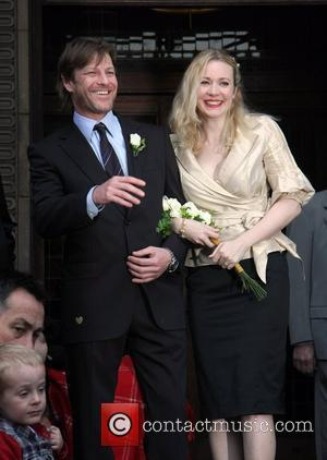 Sean Bean and Georgina Sutcliffe