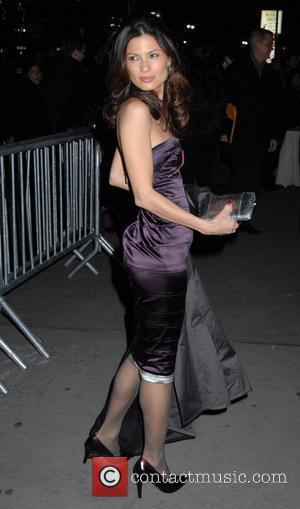 Natassia Malthe Mercedes-Benz Fashion Week Fall 2008 - Sean John - Arrivals New York City, USA - 08.02.08
