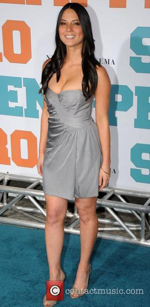 Olivia Munn 'Semi-Pro' Premiere - Arrivals Los Angeles, California - 19.02.08