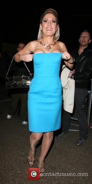 Hofit Golan almost has a wardrobe malfunction, arriving at the Vivienne Westwood Opus - Launch Party at the Serpentine Gallery....