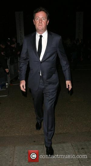 Piers Morgan leaving at the Vivienne Westwood Opus - Launch Party at the Serpentine Gallery. London, England - 12.02.08