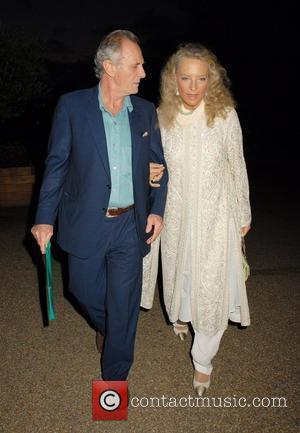 Princess Michael of Kent and guest leaving The Serpentine Gallery after The Trunk Show London, England - 16.09.07