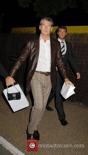 Serpentine Gallery, Pierce Brosnan