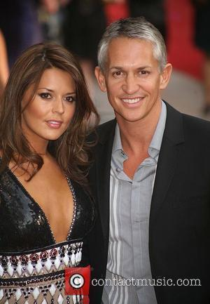 Danielle Bux and Gary Lineker, (UK film premiere of 'Sex And The City' at Odeon Leicester Square - Arrivals London,...