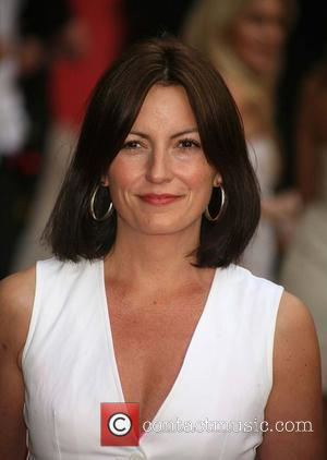Davina McCall, UK film premiere of 'Sex And The City' at Odeon Leicester Square - Arrivals London, England - 12.05.08