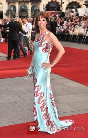 Andrea McLean UK film premiere of 'Sex And The City' at Odeon Leicester Square - Arrivals London, England - 12.05.08