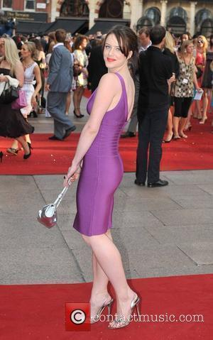 Michelle Ryan UK film premiere of 'Sex And The City' at Odeon Leicester Square - Arrivals London, England - 12.05.08...