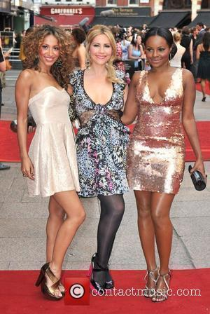 Amelle Berrabah, Heidi Range and Keisha Buchanan of the Sugababes UK film premiere of 'Sex And The City' at Odeon...