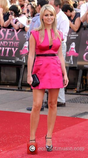 Alex Curran UK film premiere of 'Sex And The City' at Odeon Leicester Square - Arrivals  London, England -...