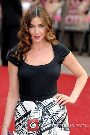 Lisa Snowdon UK film premiere of 'Sex And The City' at Odeon Leicester Square - Arrivals  London, England -...