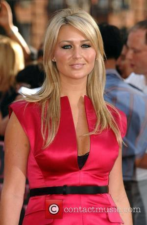 Alex Curran UK film premiere of 'Sex And The City' at Odeon Leicester Square - Arrivals London, England - 12.05.08