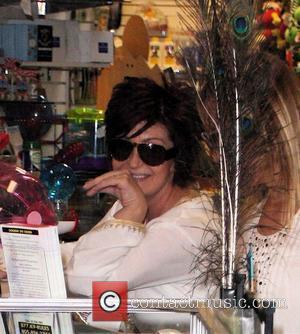 Sharon Osbourne shopping at Planet Blue pet store in Cross Creek Malibu, California - 26.04.08