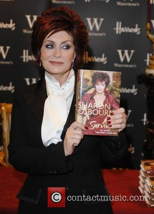Sharon Osbourne signing copies of her autobiography 'Survivor: My Story - The Next Chapter' at Waterstone's book department in Harrods...