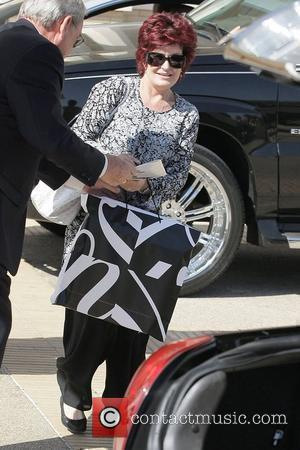 Sharon Osbourne leaving Barneys New York in Beverly Hills with large shopping bags Los Angeles, California - 28.03.08