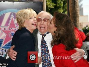Florence Henderson, Sherwood Schwartz and Dawn Wells