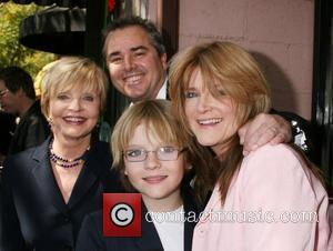 Florence Henderson and Christopher Knight