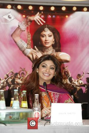 Shilpa Shetty Press conference for the musical