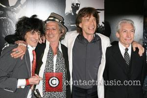 Ronnie Wood, Charlie Watts, Keith Richards and Mick Jagger