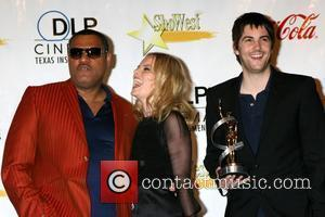 Laurence Fishburne, Kate Bosworth, and Jim Sturgess ShoWest 2008 Final Night Banquet and Awards Ceremony held at the Paris Hotel...